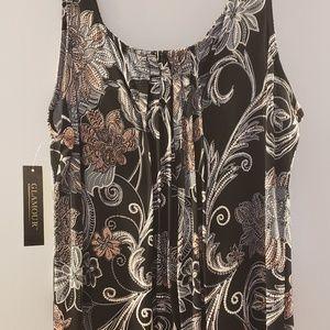 NWT Glamour long dress size 12P